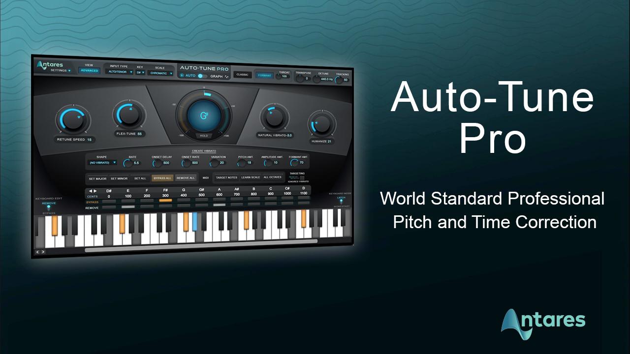 Antares AutoTune Pro 9.1.1 Crack + Keygen Free Download