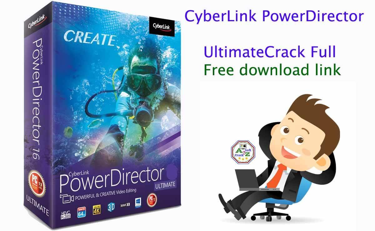 CyberLink PowerDirector Ultimate 19.1.2521.0 Crack With Serial Key Free