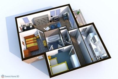 Sweet Home 3D 6.5 Crack + Serial Key Free Download