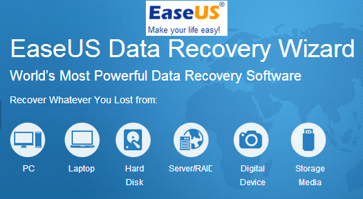 EaseUS Data Recovery Wizard 13.7 Crack + Serial Key Free Download