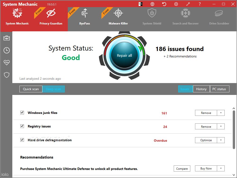 System Mechanic Pro 21.0.1.46 Crack +Activation Key Free Download
